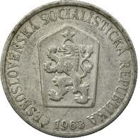Monnaie, Tchécoslovaquie, 25 Haleru, 1963, TB+, Aluminium, KM:54 - Tchécoslovaquie