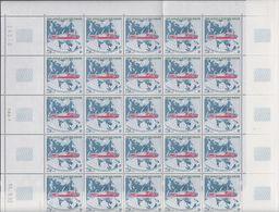 TAAF1993 L'Astrolabe 1v Complete Sheetlet (with Full Margins) ** Mnh (TA205) - Franse Zuidelijke En Antarctische Gebieden (TAAF)