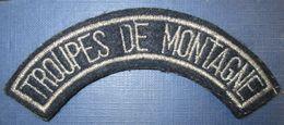 """Titre D'Epaule """"Tpes De Montagne"""" - Ecussons Tissu"""