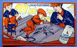 CHROMO.CHOCOLAT SUCHARD..... S 501....LES APPRENTIS N° 10 COUVREUR - Suchard
