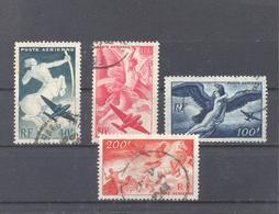 Frankreich  1946/1947 Mi-748-751  Mythologische Darstellungen - France