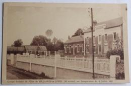 CPA 53 Villaines La Juhel Groupe Scolaire école De Filles Inauguration 4 Juillet 1937 - Villaines La Juhel