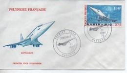 FDC POLYNESIE   CONCOE  N° YVERT ET TELLIER PA 103 - FDC