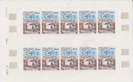 Taaf 1993 Programme Ecophy 1v  Sheetlet (unfolded) ** Mnh (TA206) - Franse Zuidelijke En Antarctische Gebieden (TAAF)