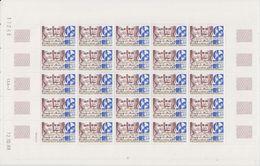 TAAF 1989 Pioniers / Bossiere 1v Sheetlet (unfolded) ** Mnh (TA207) - Ongebruikt