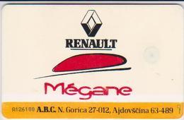 #03 - SLOVENIA-58 - RENAULT MEGANE - Slowenien