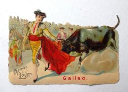 CHROMO.CHOCOLAT LOUIT.....LA CORRIDA.....GALLEO - Louit