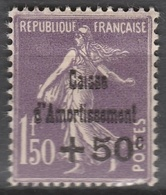 France  .    Yvert    .     277    .     *   .     Neuf Avec Charniere  .   /   .  Mint-hinged - Neufs