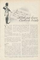 Peits Par Leur Cartes De Visite  /  Article , Pris D`un Magazine / 1912 - Livres, BD, Revues
