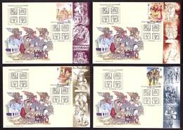 Ukraine 2019 SET FDC FD Covers Stamps GREEKS National Minorities Of Ukraine #292 - Ukraine