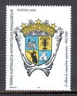 TAAF - 2005 - Blason Du 50e Ann ** - Neufs
