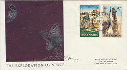 ASCENSION 1971 FDC The Exploration Of Space LIMITED EDITION.BARGAIN.!! - Afrika
