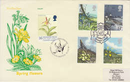 GREAT BRITAIN 1979 With Orchid (special Cancellation) + Other Flowers.BARGAIN.!! - Orchideen