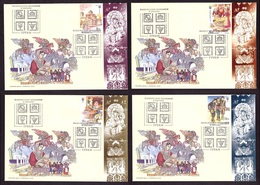 Ukraine 2019 SET FDC FD Covers Stamps GREEKS National Minorities Of Ukraine #281 - Ukraine