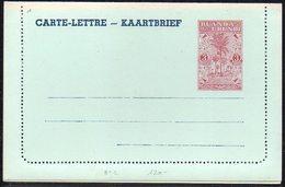 Ruanda Urundi - Entier Stibbe Carte Lettre N° 1 - Neuve - B1 - Entiers Postaux