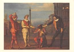 Claude GILLOT - Le Tombeau De Maître André - Cartes Postales De La Loterie Nationale Série E N'8/10 - Paintings