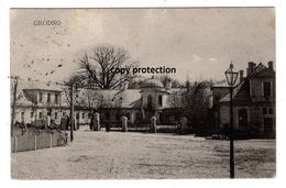 Grodno, Alte Postkarte 1917, Hrodna - Belarus