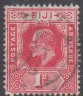 Fiji SG 127 1916 King George V One Penny Red, Used - Fiji (...-1970)