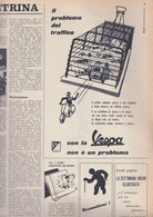 (pagine-pages)PUBBLICITA' VESPA  Settimanaincom1957/08. - Altri