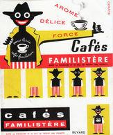 2 Buvards Publicités Le Café Familistère - Café & Thé
