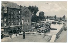 62 : BREBIERES - LE CANAL DE LA SCARPE, LE MOULIN, L'ECLUSE, LE PONT LEVIS (FELDPOSTKARTE) - France