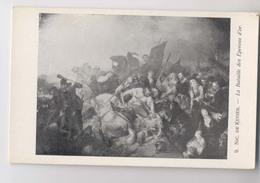 Bataille De Courtrai (1302) - La Bataille Des Eperons D'or - Peinture De Nic. De Keyser - Kortrijk