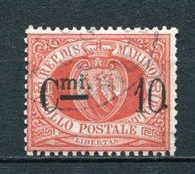 San Marino Nr.10         O  Used        (487) - Saint-Marin