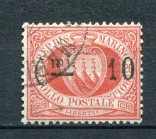 San Marino Nr.10         O  Used        (488) - Saint-Marin