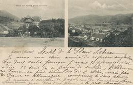 Liepvre Hotel Zur Blume Emile Koessler  Edit Schmitt Schirmeck Envoi Taxe Luc Sur Mer - Lièpvre