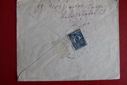 1924        ENVELOPPE   COMPLETE  DE  PLOESTI  POUR  PARIS    2   PHOTOS - 1881-1918: Charles Ier
