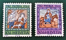 POUR LA PATRIE 1966 - OBLITERES - YT 770 + 772 - Gebraucht