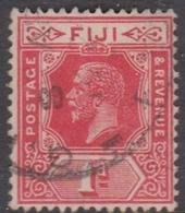 Fiji SG 230 1923 King George V 1d Red, Used - Fiji (...-1970)