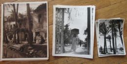 Lot De 17 Photos Anciennes Et Agrandissements - Egypte Et Maghreb, Le Caire, Scènes, Types, Bâteaux, Monuments, Etc... - France