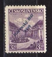 Slowakei / Slovakia, 1939, Mi 19 B * [240319XXIV] - Slowakische Republik
