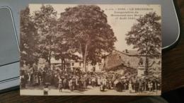 Le Brugeron [lot De 3 Cartes] Monument Aux Mort - Inauguration Du 7 Août 1921 - Frankreich