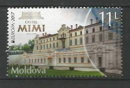 Moldova / Moldau 2017 ,  EUROPA  CEPT  Schlösser Und Burgen - Gestempelt / Used / (o) - 2017
