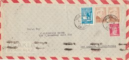 TURKEY 1947 Cover To USA.BARGAIN.!! - Brieven En Documenten