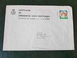 (28059) STORIA POSTALE ITALIANA 1991 - 6. 1946-.. Repubblica