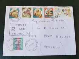 (28063) STORIA POSTALE ITALIANA 1991 - 6. 1946-.. Repubblica