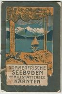 AUTRICHE / AUSTRIA - Sommerfrische SEEBODEN Am MILLSTÄTTERSEE KÄRNTEN - 62 Pages - 10 Scans - Dépliants Touristiques