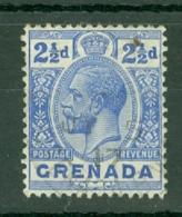 Grenada: 1913/22   KGV   SG94     2½d   Bright Blue   Used - Grenada (...-1974)