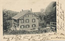 Moulin De Ferrette Pfirtermuhle  Petite Dechirure 3mm En Haut - Ferrette