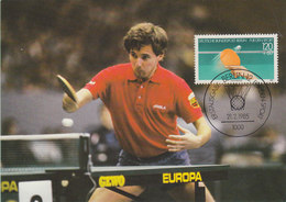 GERMANY 1985 Max Card Table Tennis.BARGAIN.!! - Tennis De Table
