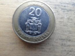 Jamaique  20  Dollars  2001  Km 182 - Jamaique