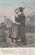 CPA - Thèmes * Couples, Série Uf'n Bergli * - Couples