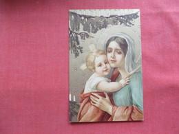 Embossed  Religions   Sample Card  > Ref 3236 - Virgen Mary & Madonnas
