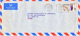 NOUVELLE-ZELANDE : 1972 - Lettre Commerciale Par Avion Pour La France - Lunettes - Nouvelle-Zélande