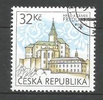 Tschechische Republik  2017 ,  EUROPA  CEPT  Schlösser Und Burgen - Gestempelt / Used / (o) - 2017