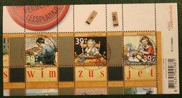 Zomerzegels Wim Zus Jet Deel 2 NVPH 2418 (Mi Block 95) 2006 JANSTEEN Gestempeld Used NEDERLAND NIEDERLANDE NETHERLANDS - 1980-... (Beatrix)