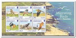 Alderney 2004, Postfris MNH, Flora, Fauna, Birds, Butterflies - Alderney